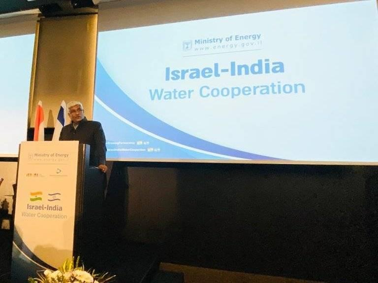 Honourable Minister of Jal Shakti attended the Ministerial meeting with Dr. Yuval Steinitz, Minister of Energy, State of Israel