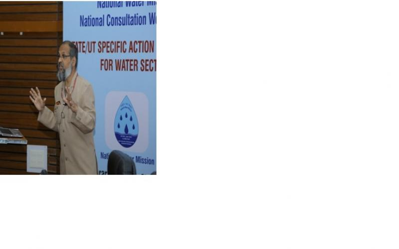 National Consultation on State Specific Action Plan-Water held on 23-10-2017