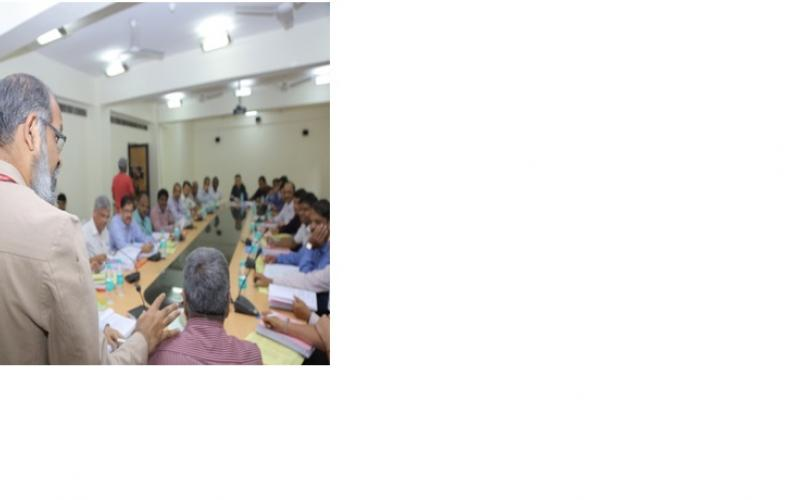 Brainstorming session during National Consultation on State Specific Action Plan-Water held on 23-10-2017