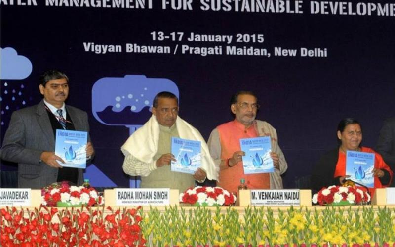 India Water Week, 2015 (Book Launch)